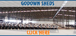 godown sheds - modern sheds for building factory in ludhiana punjab india